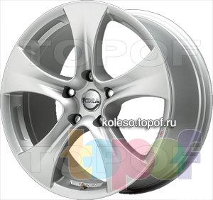 Колесные диски Toora T620. Изображение модели #1