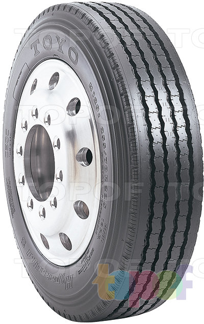 Шины Toyo M120z. Дорожная шина для грузового автомобиля