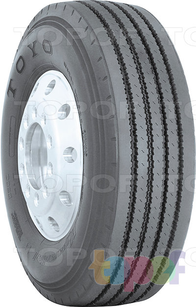 Шины Toyo M124z. Дорожная шина для грузового автомобиля