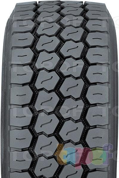 Шины Toyo M320. Продольные зигзагообразные канавки