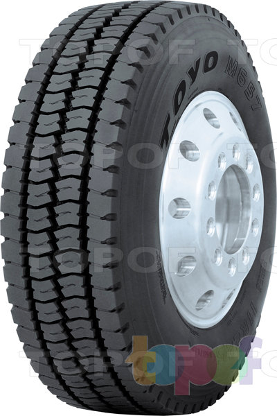 Шины Toyo M657. Грузовая шина для ведущей оси