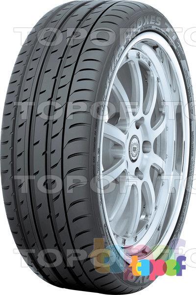 Шины Toyo Proxes T1 Sport. Внешняя часть шины