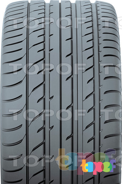 Шины Toyo Proxes T1 Sport. Широкое центральное ребро протектора