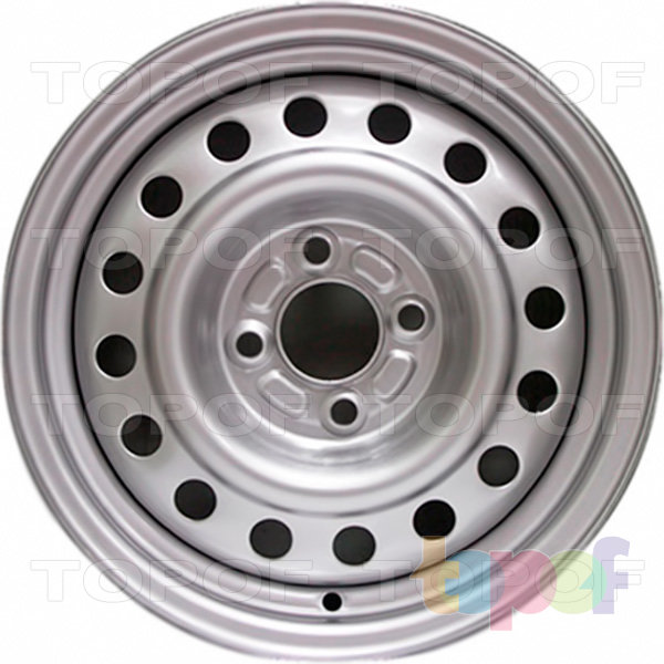 Колесные диски Trebl 6555. Изображение модели #1