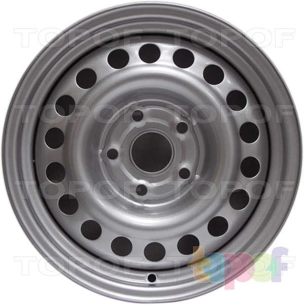 Колесные диски Trebl x40004. Изображение модели #1