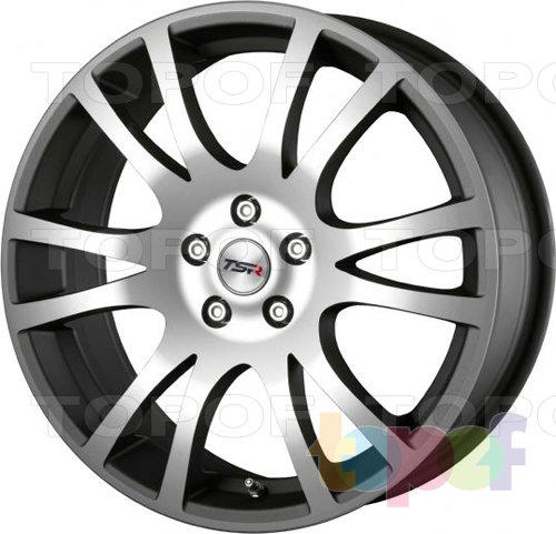 Колесные диски TSR Ascari. Цвет Ice Titan