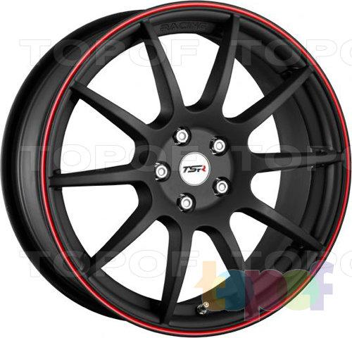Колесные диски TSR Lesmo. Цвет matt black