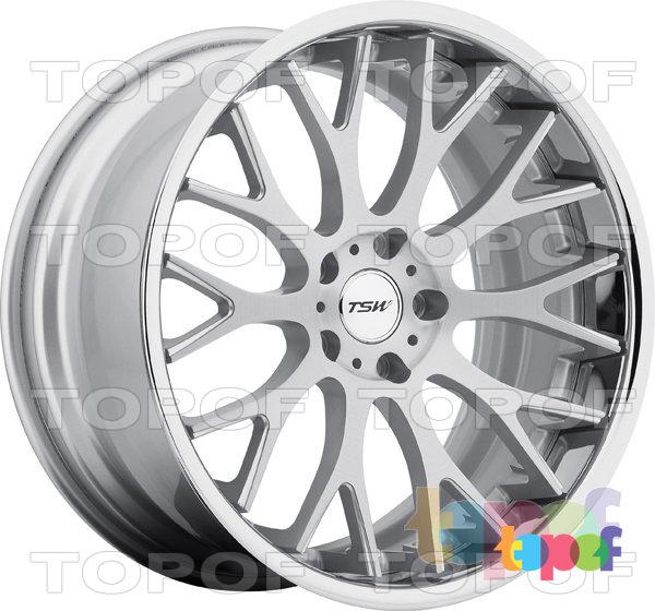 Колесные диски TSW Amaroo. Цвет серебристый