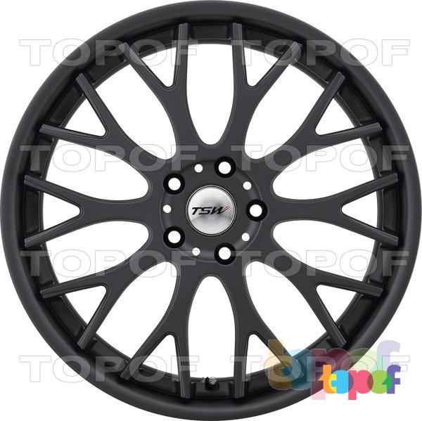 Колесные диски TSW Amaroo. Цвет матовый черный