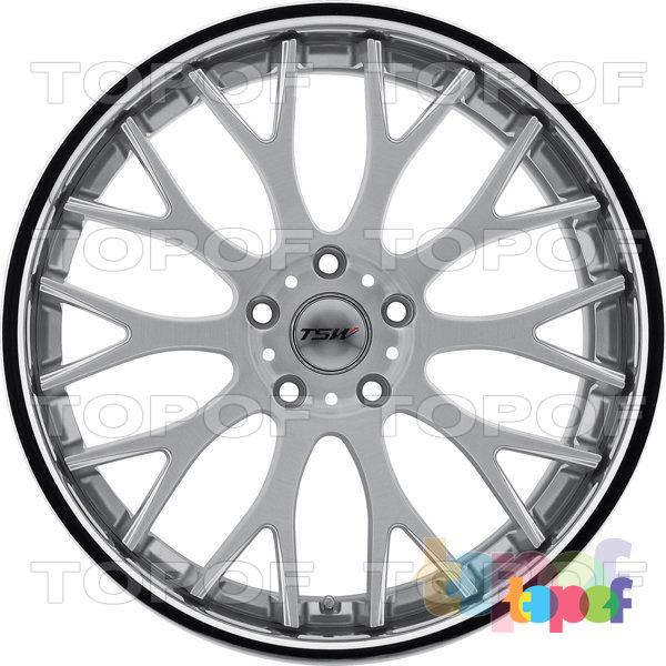 Колесные диски TSW Amaroo. Цвет серебро