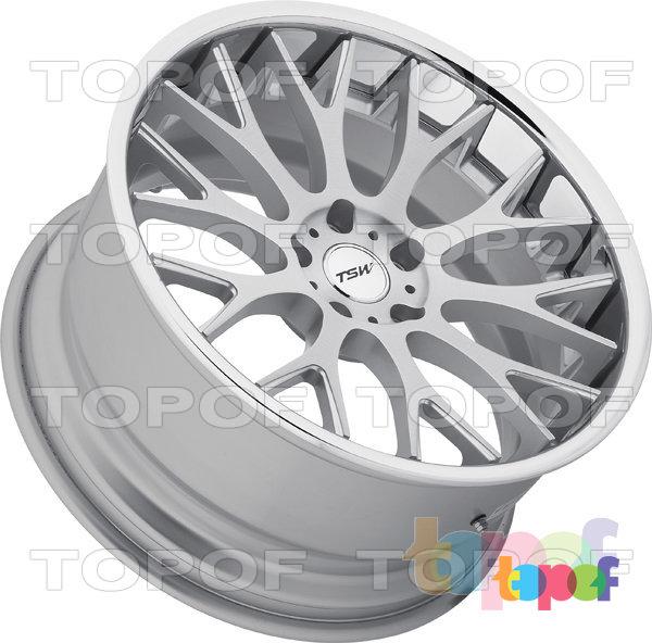 Колесные диски TSW Amaroo. Цвет Silver