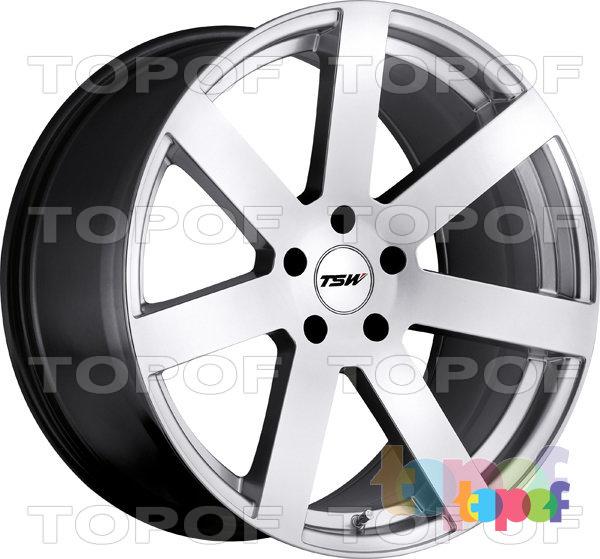 Колесные диски TSW Bardo. Цвет серебристый