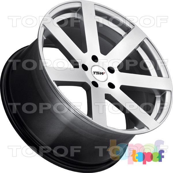 Колесные диски TSW Bardo. Цвет Silver