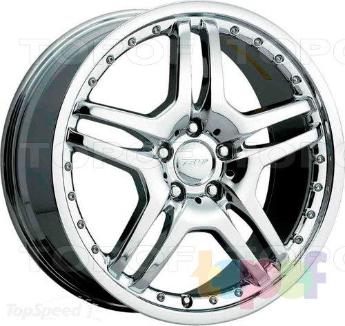 Колесные диски TSW Bremma. Цвет серебряный