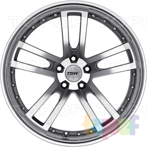 Колесные диски TSW Cadwell. Изображение модели #3