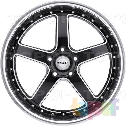 Колесные диски TSW Carthage. Изображение модели #3
