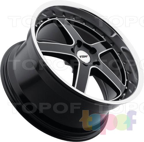 Колесные диски TSW Carthage. Изображение модели #5