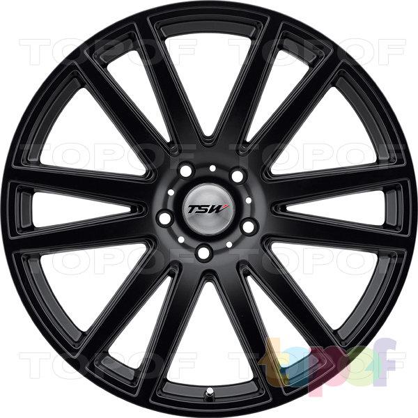 Колесные диски TSW Gatsby. Цвет матовый черный