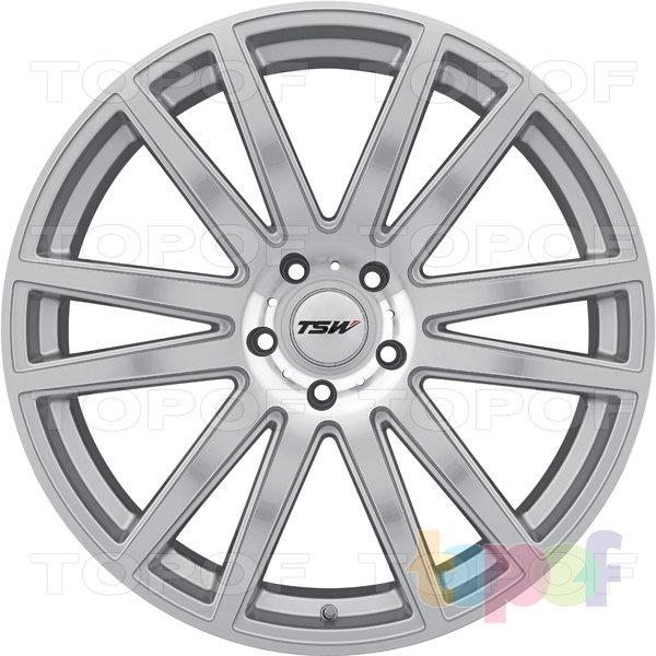 Колесные диски TSW Gatsby. Цвет серебристый