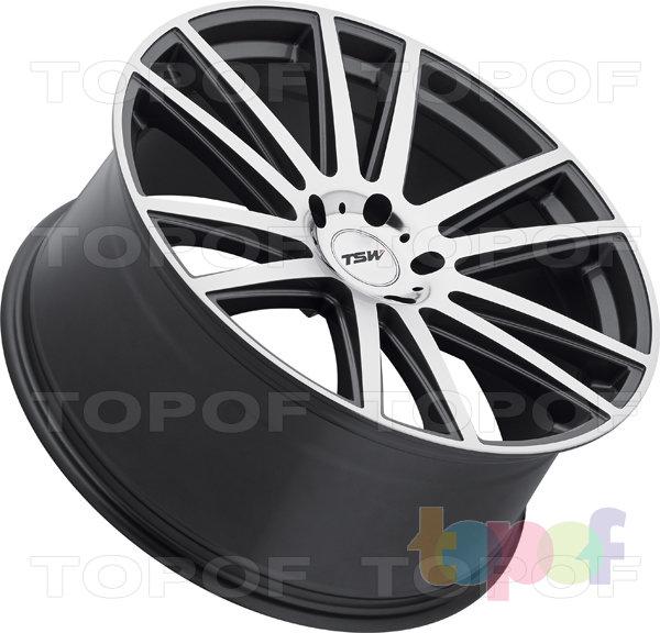 Колесные диски TSW Gatsby. Цвет GM