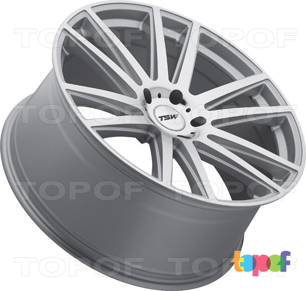 Колесные диски TSW Gatsby. Цвет Silver