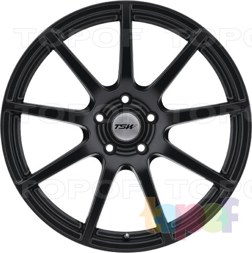 Колесные диски TSW Interlagos RF. Изображение модели #3