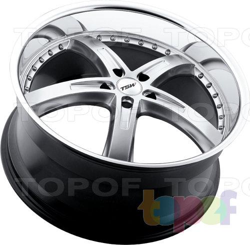Колесные диски TSW Jarama. Цвет черный