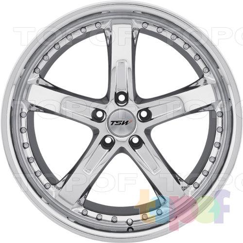 Колесные диски TSW Jarama. Цвет серебряный