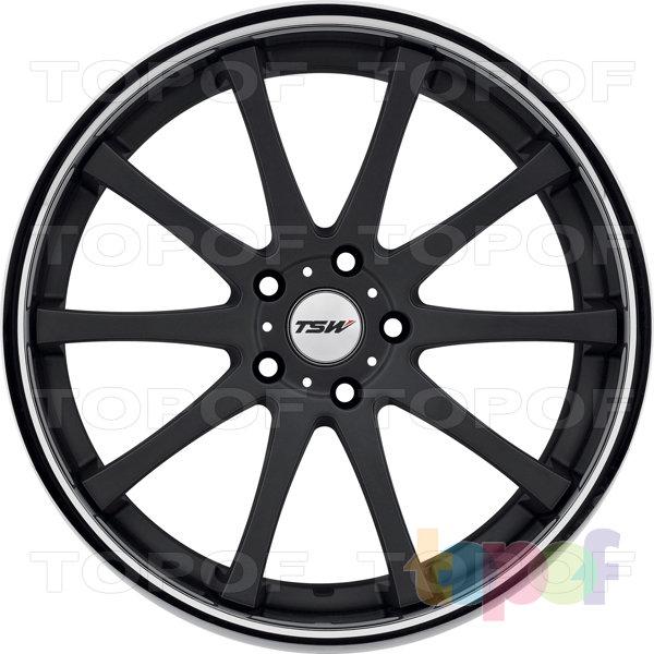 Колесные диски TSW Jerez. Цвет черный полированный