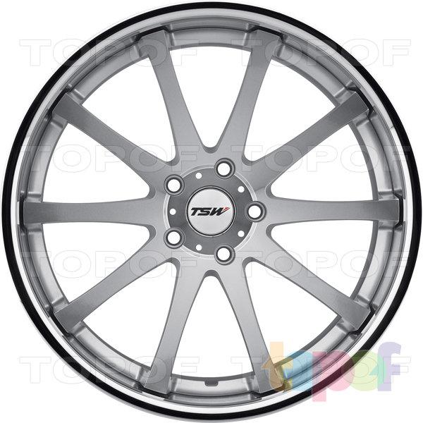 Колесные диски TSW Jerez. Цвет серебристый