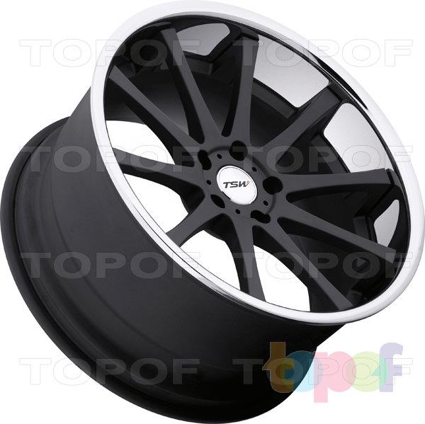 Колесные диски TSW Jerez. Цвет matte black
