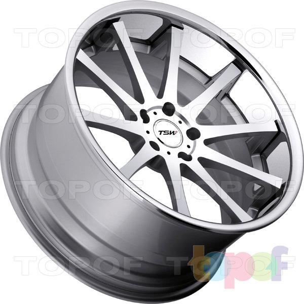 Колесные диски TSW Jerez. Цвет Silver Face