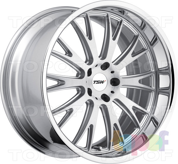 Колесные диски TSW Monaco. Цвет Silver