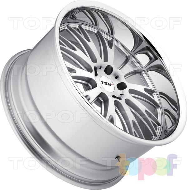 Колесные диски TSW Monaco. Цвет серебро