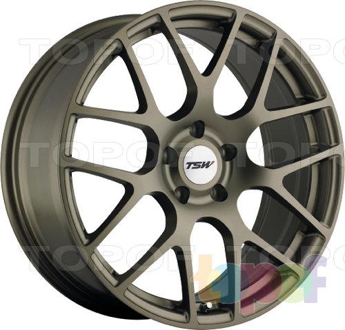 Колесные диски TSW Nurburgring. Цвет бронзовый