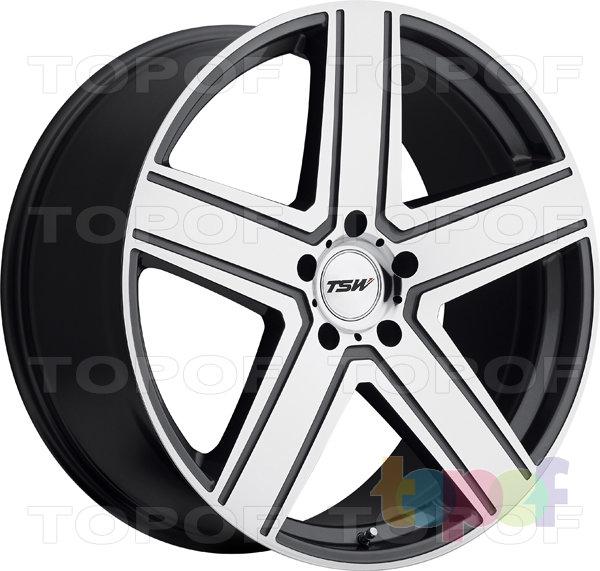Колесные диски TSW Regis. Цвет GunMetal Mirror