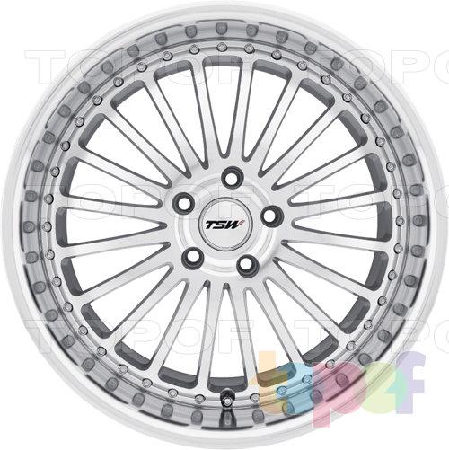 Колесные диски TSW Silverstone. Изображение модели #4