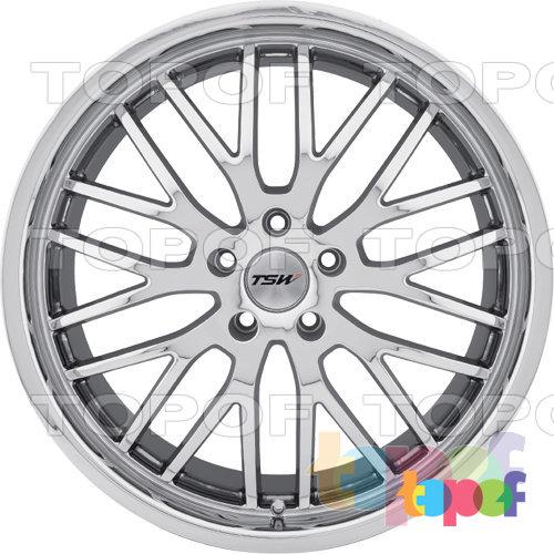 Колесные диски TSW Snetterton. Хромированный