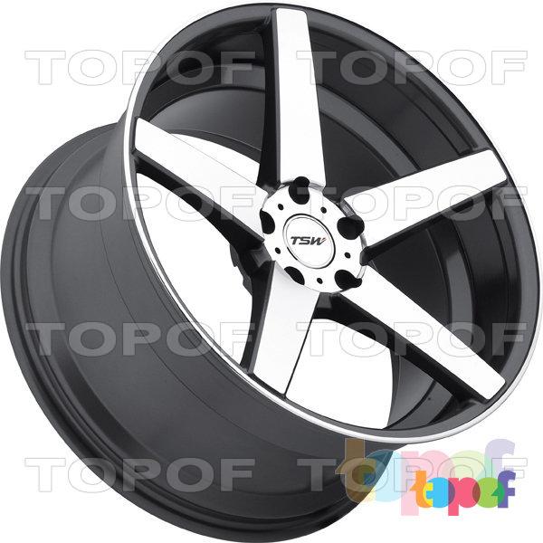 Колесные диски TSW Sochi. Цвет GMF