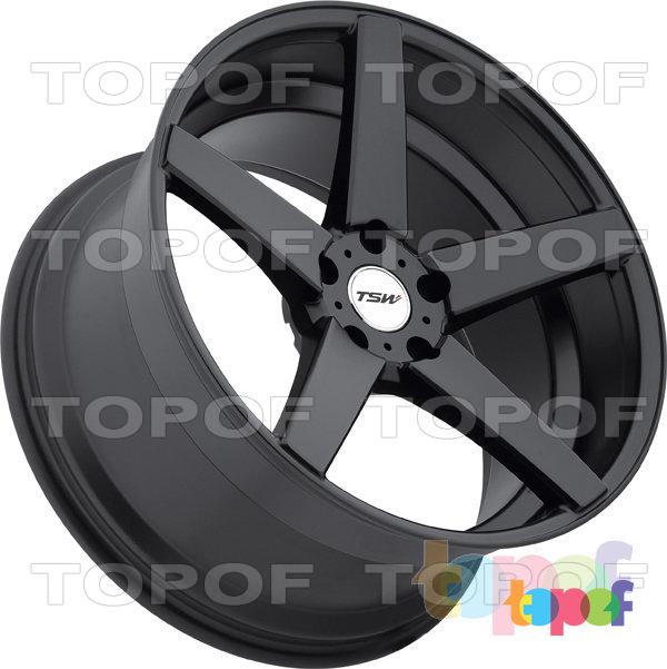 Колесные диски TSW Sochi. Цвет MBF