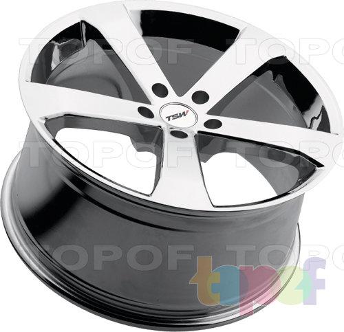 Колесные диски TSW Vortex. Хромированный