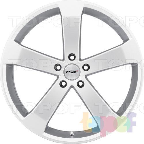 Колесные диски TSW Vortex. Серебряный