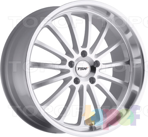 Колесные диски TSW Zolder 5. Цвет белый