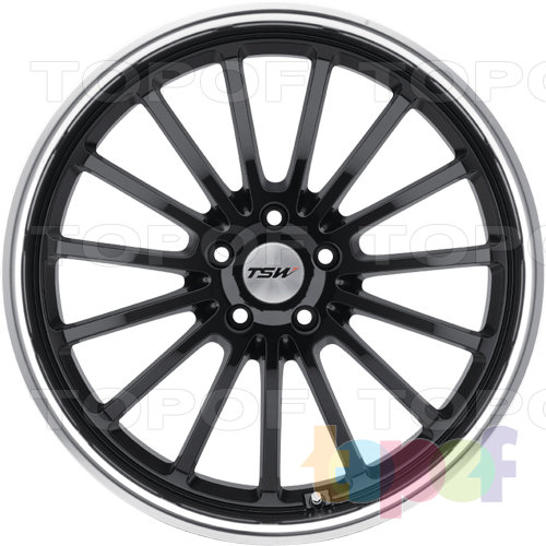 Колесные диски TSW Zolder 5. Цвет черный
