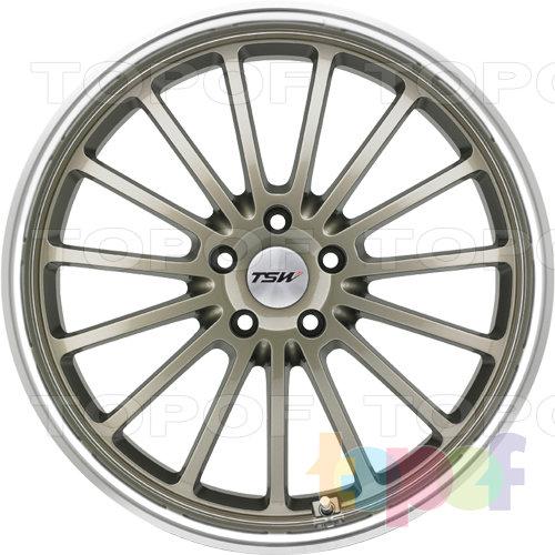 Колесные диски TSW Zolder 5. Цвет золотой
