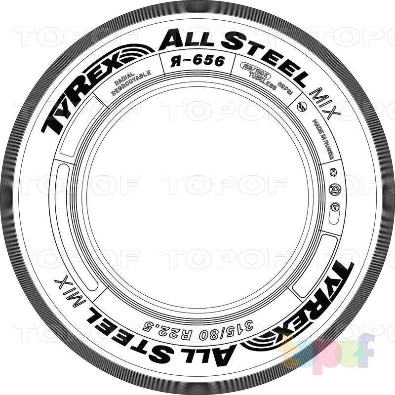 Шины Tyrex All Steel Road Ya-656. Изображение модели #2