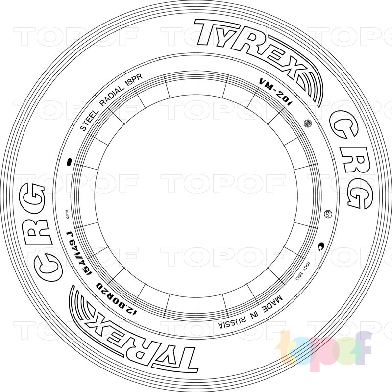 Шины Tyrex CRG VM-201. Изображение модели #3