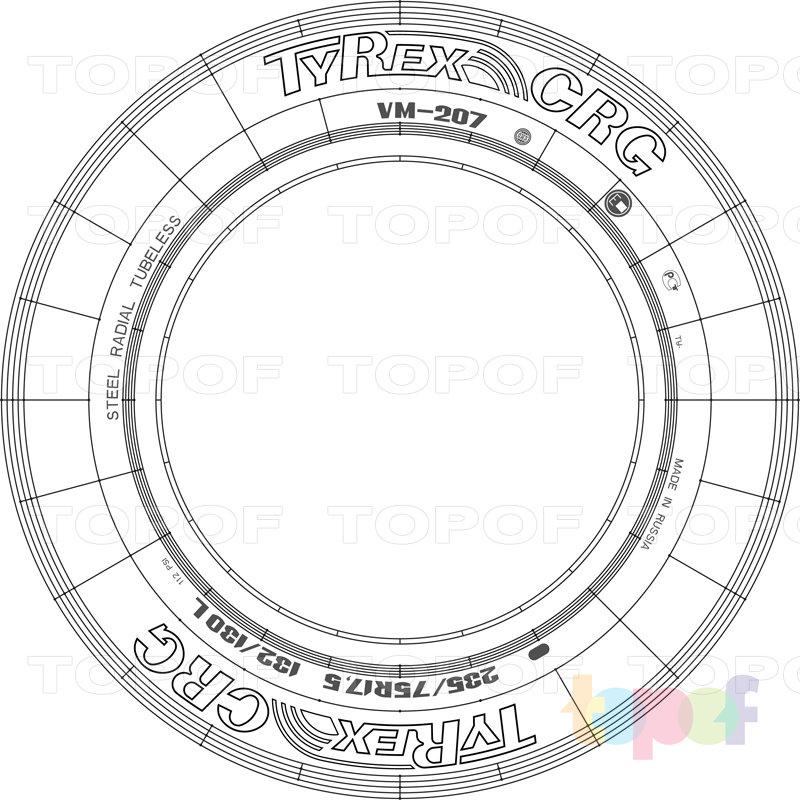 Шины Tyrex CRG VM-207. Изображение модели #3