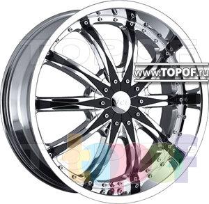 Колесные диски VCT Wheel Abruzzi. Изображение модели #1
