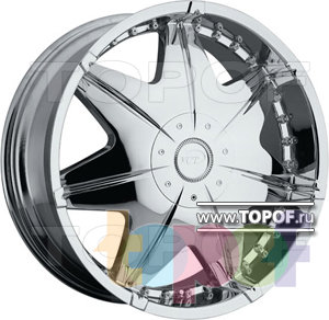 Колесные диски VCT Wheel Bandini. Изображение модели #1